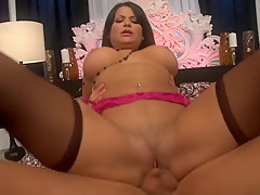 Amazing pornstar Sophia Lomeli in fabulous latina, lingerie adult video