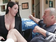 Time-honoured bastard Rocco fucks put emphasize shit out of asshole belonged to Angela White