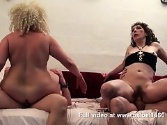 Regina and a friend banged by infrequent cocks