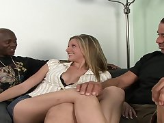 Coxcomb Enjoys Watching His White Wife Fucked - catalina taylor