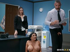 There is nothing better for Audrey Bitoni than a sex on be passed on assignment table