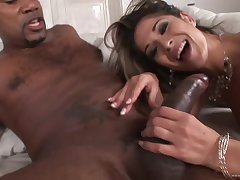 Hot babe Tomina Steel - sodomy interracial porn video