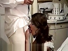 Cute Latina Maid together with Her Filthy Boss (1970s Vintage)
