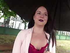 GERMAN SCOUT - SEDUCE TEENY EMMA Hidden Down GET LAID Convenient CASTING