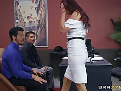 Monique Alexander gets her pussy filled nearby hard and valorous goof