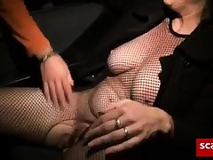 Milf Fucked unconnected with Stranger in Car