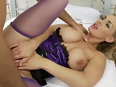 Hardcore sexual intercourse by strong and heavy dick is all that Tanya Tate needs