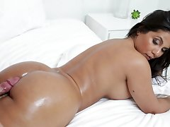 Rose Monroe enjoys every copulation pose with say no to boyfriend on the bed